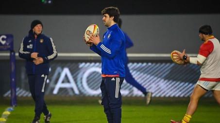 Pato Fernández será titular en Perpignan