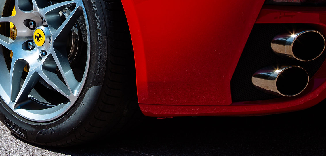 Ferrari commercial shoot