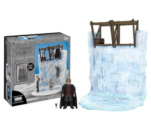 Juego de Tronos. Playset Muro con Tyrion de 32 cm Television Action figures.