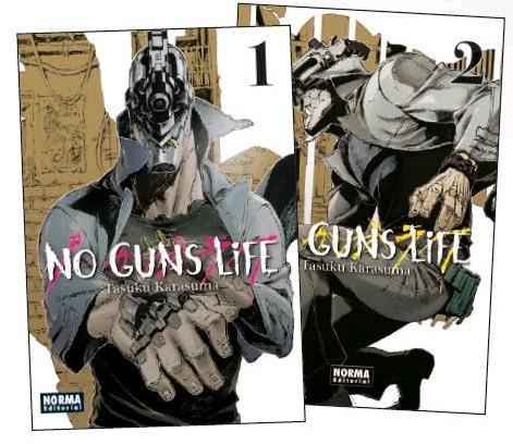 No guns life Pack iniciación Vol.1+2