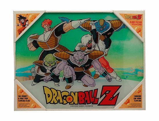 Poster de vidrio Fuerzas especiales 40x30. Dragon Ball