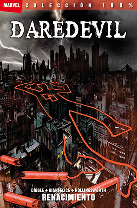 Daredevil: Renacimiento. 100% Marvel.