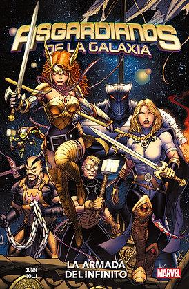 Asgardianos de la Galaxia 1: La Armada del Infinito. 100% Marvel.