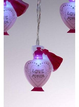 Cadena de luces de Navidad 2D Love Potion de Harry Potter
