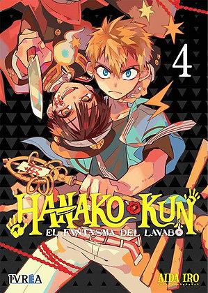Hanako-Kun, El fantasma del lavabo Vol.4