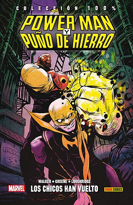 Power Man y Puño de Hierro  1. 100% Marvel HC.