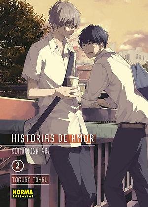 Historias de amor Vol.2 Koimonagatari