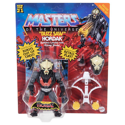 Masters of the Universe Deluxe Figuras 2021 Buzz Saw Hordak 14 cm