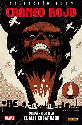 Cráneo Rojo. El mal encarnado. 100% Marvel.