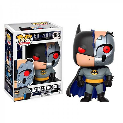 Batman Robot. Batman The Animated Series Funko POP! Heroes Vinyl 9 cm