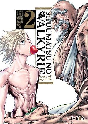 Shuumatsu no Valkyrie. Record of Ragnarok Vol.2