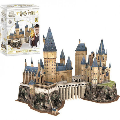 Harry Potter Puzzle 3D Castillo Hogwarts