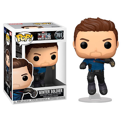 The Falcon and the Winter Soldier POP! Marvel Vinyl Figura Winter Soldier 9 cm