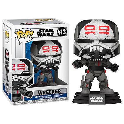 Star Wars: Clone Wars POP! Star Wars Vinyl Figura Wrecker 9 cm