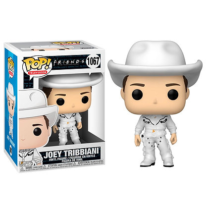 Friends Figura POP! TV Vinyl Cowboy Joey 9 cm