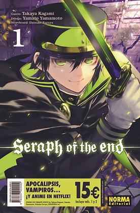 Pack Iniciación Seraph of the end 1 y 2