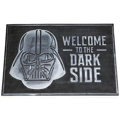 """Star Wars felpudo de caucho """"Welcome to the Dark Side"""" 60x40 cm"""