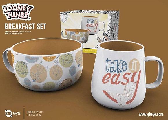 Looney Tunes Pack Desayuno Originals
