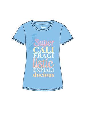 Mary Poppins Camiseta Chica Supercalifragilisticoexpialidoso