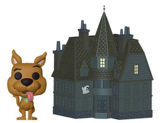 Scooby Doo. Haunted Mansion 9 cm Funko POP! Town Vinyl
