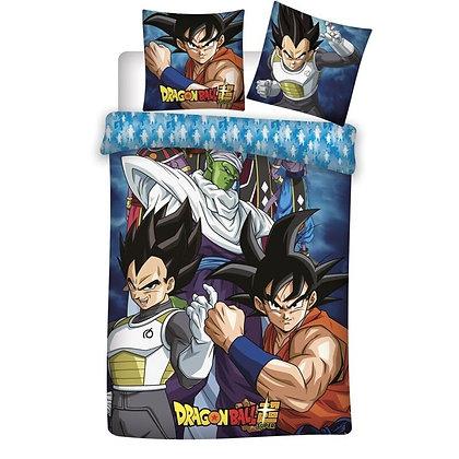 Funda de edredón Dragon Ball  (Goku, Vegeta y Piccolo)