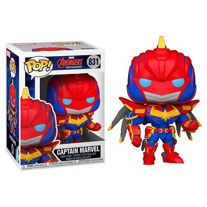 Marvel Mech Figura POP! Vinyl Captain Marvel 9 cm