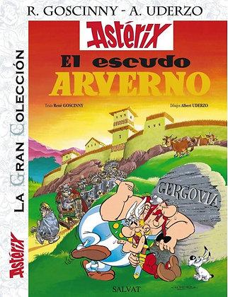Astérix La Gran Colección. El escudo Arverno