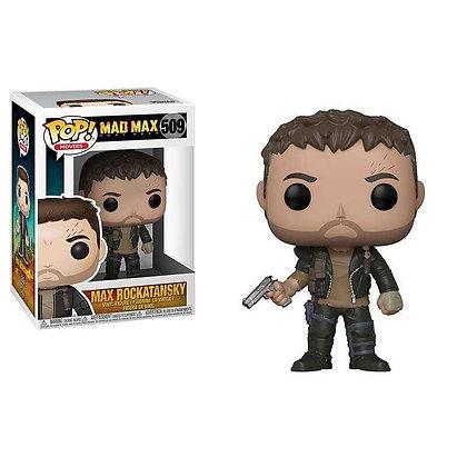 Mad Max Fury Road POP! Movies Vinyl Figura Max with Gun 9 cm
