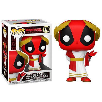 Marvel Deadpool 30th Anniversary Figura POP! Vinyl Roman Senator Deadpool 9 cm