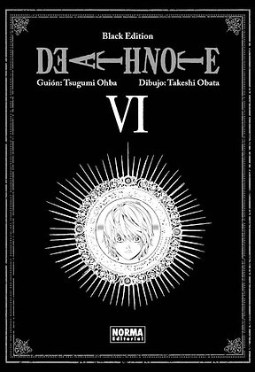Death Note Balck Edition Vol.6