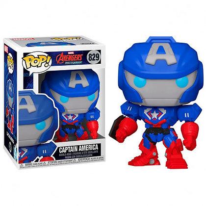 Marvel Mech Figura POP! Vinyl Captain America 9 cm