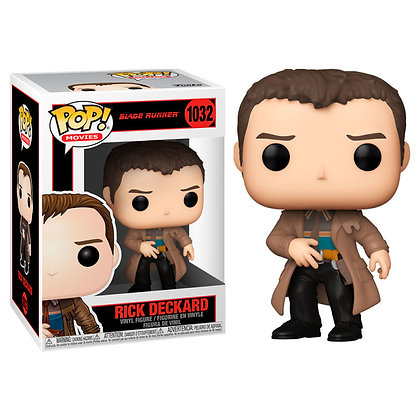 Blade Runner POP! Movies Vinyl Figura Rick Deckard 9 cm