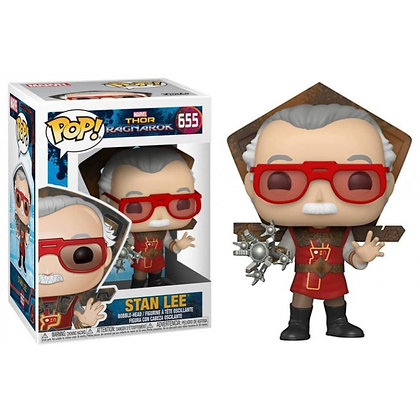 Stan Lee POP! Icons Vinyl Figura Stan Lee in Ragnarok Outfit 9 cm