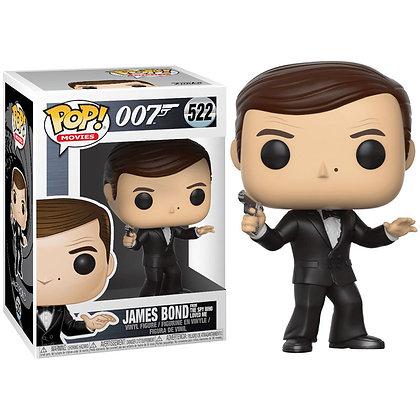 James Bond POP! Movies Vinyl Figura Roger Moore 9 cm