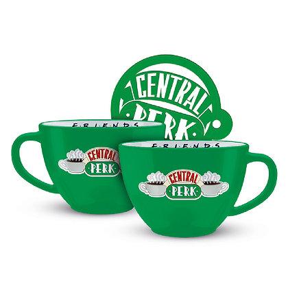 Friends Taza Cappuccino Central Perk
