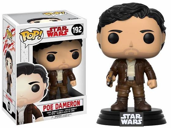 Star Wars Episode VIII POP! Vinyl Cabezón Poe Dameron 9 cm