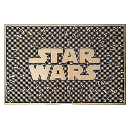 Felpudo caucho Star Wars 60x40 cm