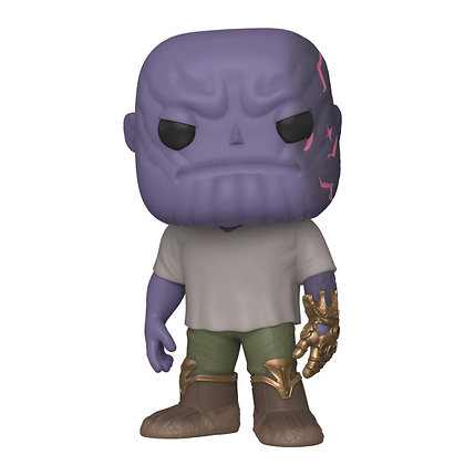 Casual Thanos w/Gauntlet Avengers: Endgame POP! Movies Vinyl Figura 9 cm