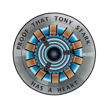 Marvel Alfombra Proof That Tony Stark Has A Heart 80 cm