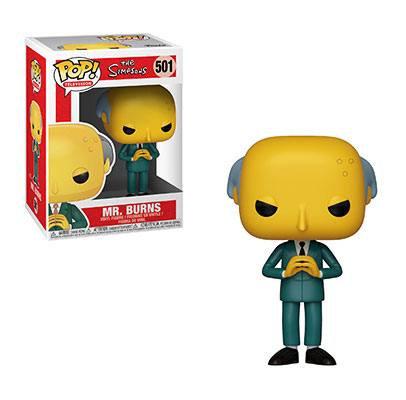 Mr. Burns Los Simpson Figura POP! TV Vinyl 9 cm