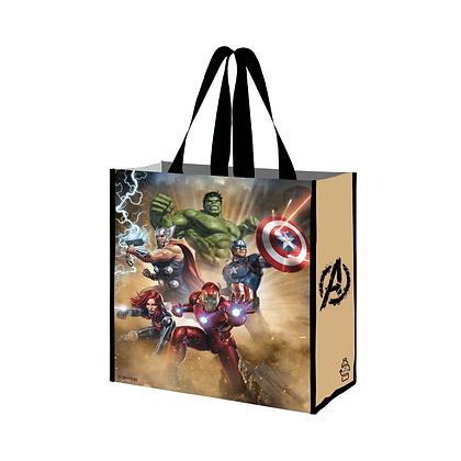 Bolsa Reutilizable Marvel Avengers en acción