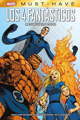 Marvel Must-Have. Los 4 Fantásticos: Resuelvelo todo.