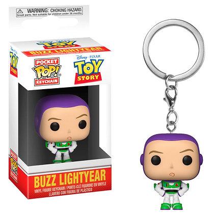 Toy Story Llavero Pocket POP! Vinyl Buzz 4 cm