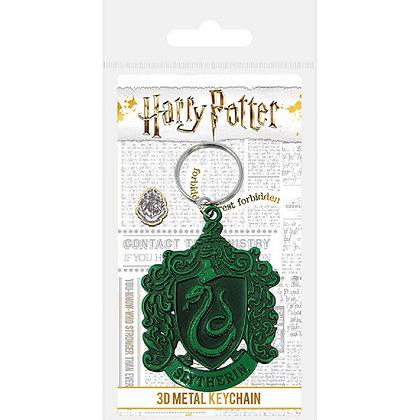 Harry Potter llavero metálico Slytherin