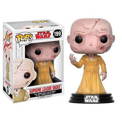 Star Wars Episode VIII POP! Vinyl Cabezón Supreme Leader Snoke 9 cm