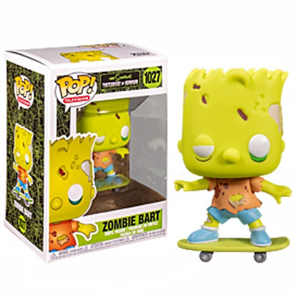 Los Simpson Figura POP! Animation Vinyl Zombie Bart 9 cm
