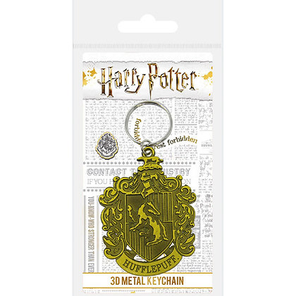 Harry Potter llavero metálico Hufflepuff
