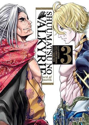 Shuumatsu no Valkyrie. Record of Ragnarok Vol.3