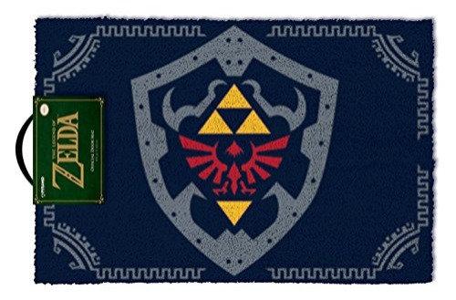 Legend of Zelda Felpudo Hylian Shield 40 x 60 cm