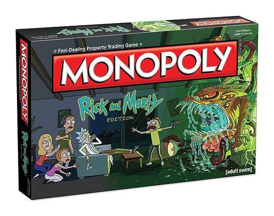 Rick y Morty Juego de Mesa Monopoly *Edición Inglés*